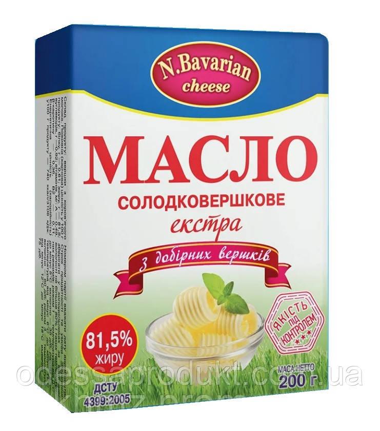 """Масло сливочное """"N.Bavarian cheese"""" 81.5% 200г"""