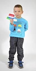 Дитячі штани з плащової тканини Канада на флісі 98, 104, 110, 116