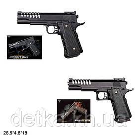 Дитячий пневматичний пістолет VIGOR V305/V303 з кульками, дитяче зброю