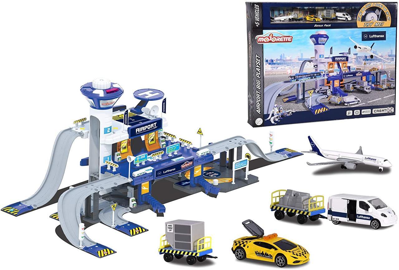 Игровой набор Creatix Аэропорт  Majorette 2050018