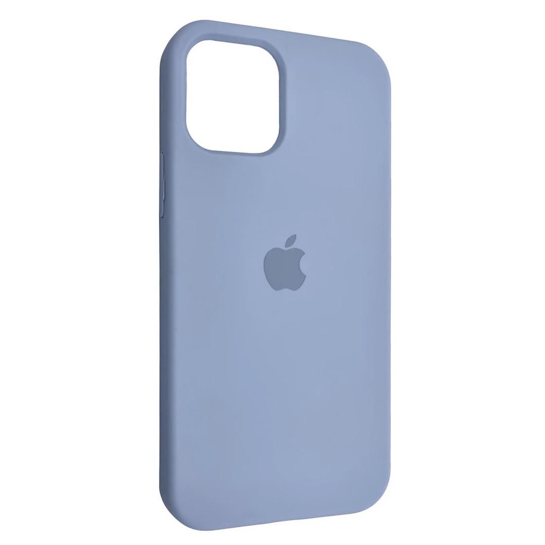 Силиконовый чехол Silicone case для Apple iPhone 12 Pro Max | Lilac | DK
