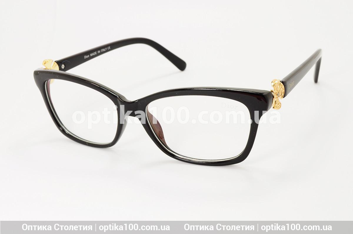 Женские имиджевые очки в стиле Dior. На среднее или небольшое лицо