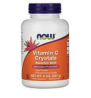 Now Foods Витамин С в кристаллах, 227 г, фото 1