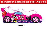 """Кровать машина """" Мини Драйв"""" малина, фото 1"""