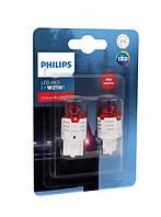 LED лампа W21W (бесцокольная 2-х конт) Philips Ultinon Pro3000 SI (11066U30RB2)