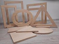 Набор балансировочных геометрических фигур. Комплект включает 10 фигур и 6 основ к ним., фото 1