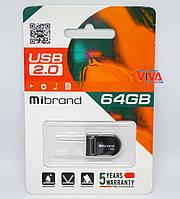 USB флешка Mibrand Scorpio 64GB Black (MI2.0/SC64M3B)