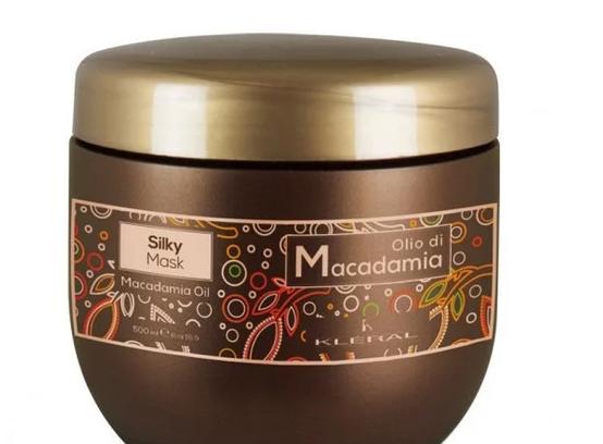 Kleral Маска Kleral Macadamia для сухих и окрашенных волос с маслом макадами 500 мл
