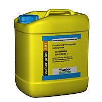 Weber.prim 801 (Eurolan TG 2), 10л - грунтовка для сильновпитывающих оснований