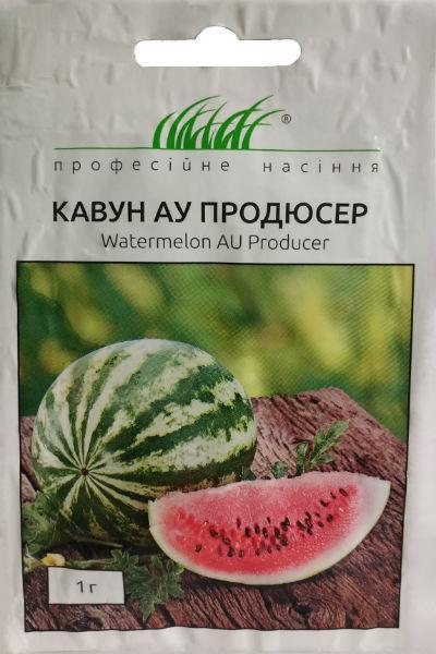 Семена арбуза АУ Продюсер круглый 1 г United Genetics