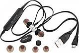 Беспроводные Bluetooth наушники Awei B923BL черные, фото 6