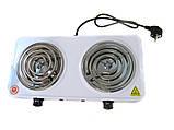 Электроплита Domotec MS-5802 плита настольная, фото 2