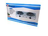 Электроплита Domotec MS-5802 плита настольная, фото 4