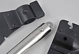 Набір похідний 5 в 1. Лопата, відкривачка,пила, сокира, ніж, фото 3