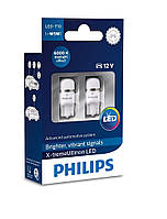 LED лампа T10 (бесцокольная W5W) Philips X-tremeUltinon LED 6000K (127996000KX2)