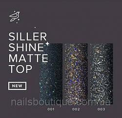 Матовий топ з шиммером Siller, 8мл