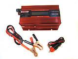 Преобразователь UKC авто инвертор 12V-220V 500W LCD KC-500D, фото 2