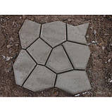 Форма садовая дорожка 600*600*60 + бордюр классика, фото 5
