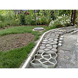 Форма садовая дорожка 600*600*60 + бордюр классика, фото 6