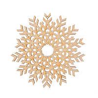 Фигура Yes! Fun из фанеры 0.4 ''Снежинка декоративная №1'', d-12 см