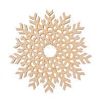 Фигура Yes! Fun из фанеры 0.4 ''Снежинка декоративная №1'', d-17 см