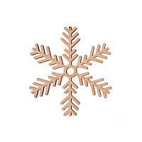 Фигура Yes! Fun из фанеры 0.4 ''Снежинка декоративная №2'', d-12 см
