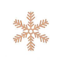Фигура Yes! Fun из фанеры 0.4 ''Снежинка декоративная №2'', d-17 см