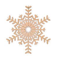 Фигура Yes! Fun из фанеры 0.4 ''Снежинка декоративная №3'', d-17 см