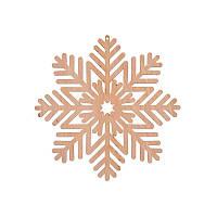 Фигура Yes! Fun из фанеры 0.4 ''Снежинка декоративная №4'', d-12 см