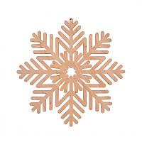 Фигура Yes! Fun из фанеры 0.4 ''Снежинка декоративная №4'', d-17 см