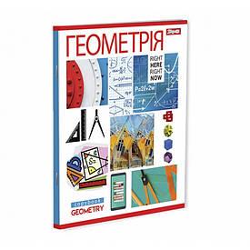 Зошит для записів А5/48 кл. 1В ГЕОМЕТРІЯ (PATTERN)