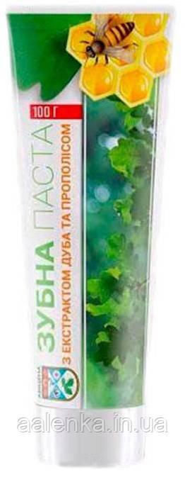 Авиценна зубная паста с экстрактом дуба и прополиса, 100г