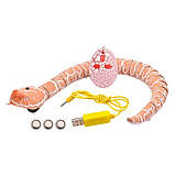Змея радиоуправляемая реалистичная 38см аккумуляторная Rattle Snake, фото 2