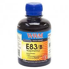 Чернила WWM EPSON StPhoto R270/290 Black /NEW (E83/B)