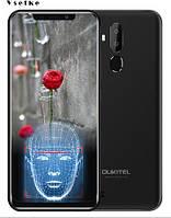 "Oukitel C12 6.18"" 2GB RAM 16GB ROM 3G Android 8.1 3300 мАч Black, фото 1"