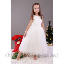 Нарядное платье для девочки, 181006Б1,  от 7 до 8 лет