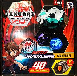 Набор бакуганов Bakugan 3шт вид 3