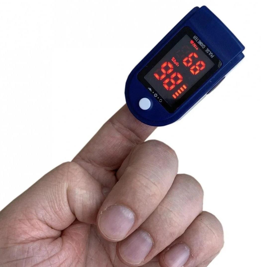 Пульсоксиметр для измерения сатурации и пульса (аналог Contec CMS 50DL)