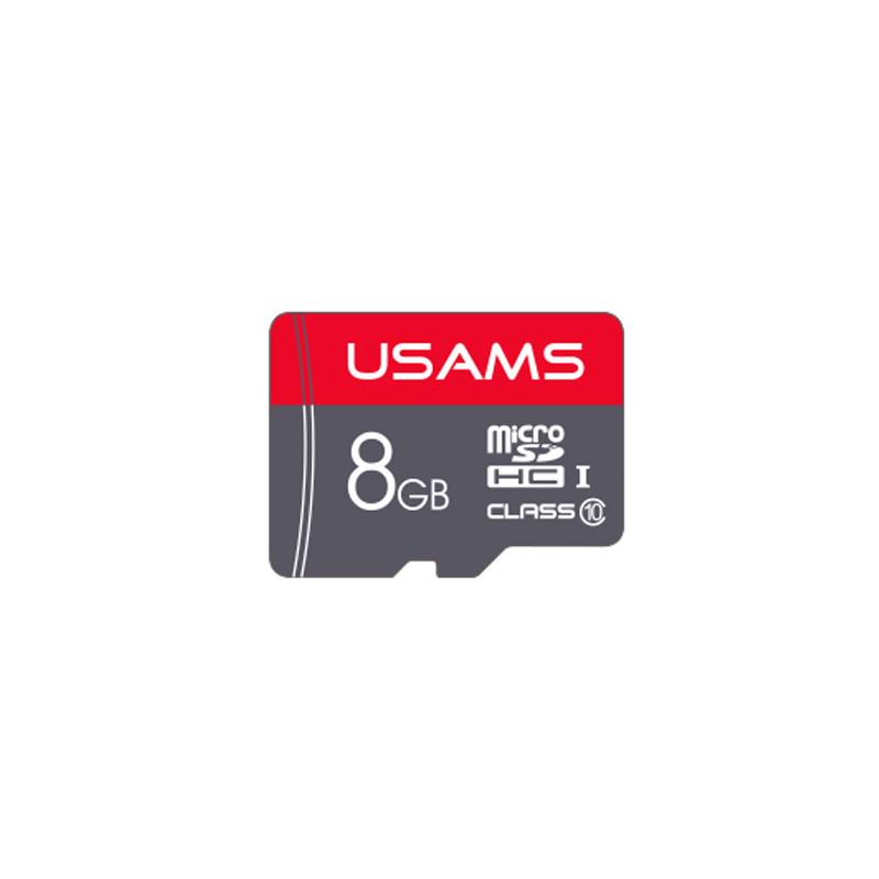 Карта памяти USAMS US-ZB092 Micro SDHC 8GB Class 10