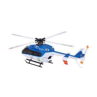 Вертолет на р/у  ХК K124 2.4 ГГц время полета 5 минут, дальность полета 150 метров