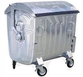 Оцинковані контейнери для сміття