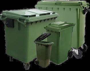 Пластикові контейнери для сміття