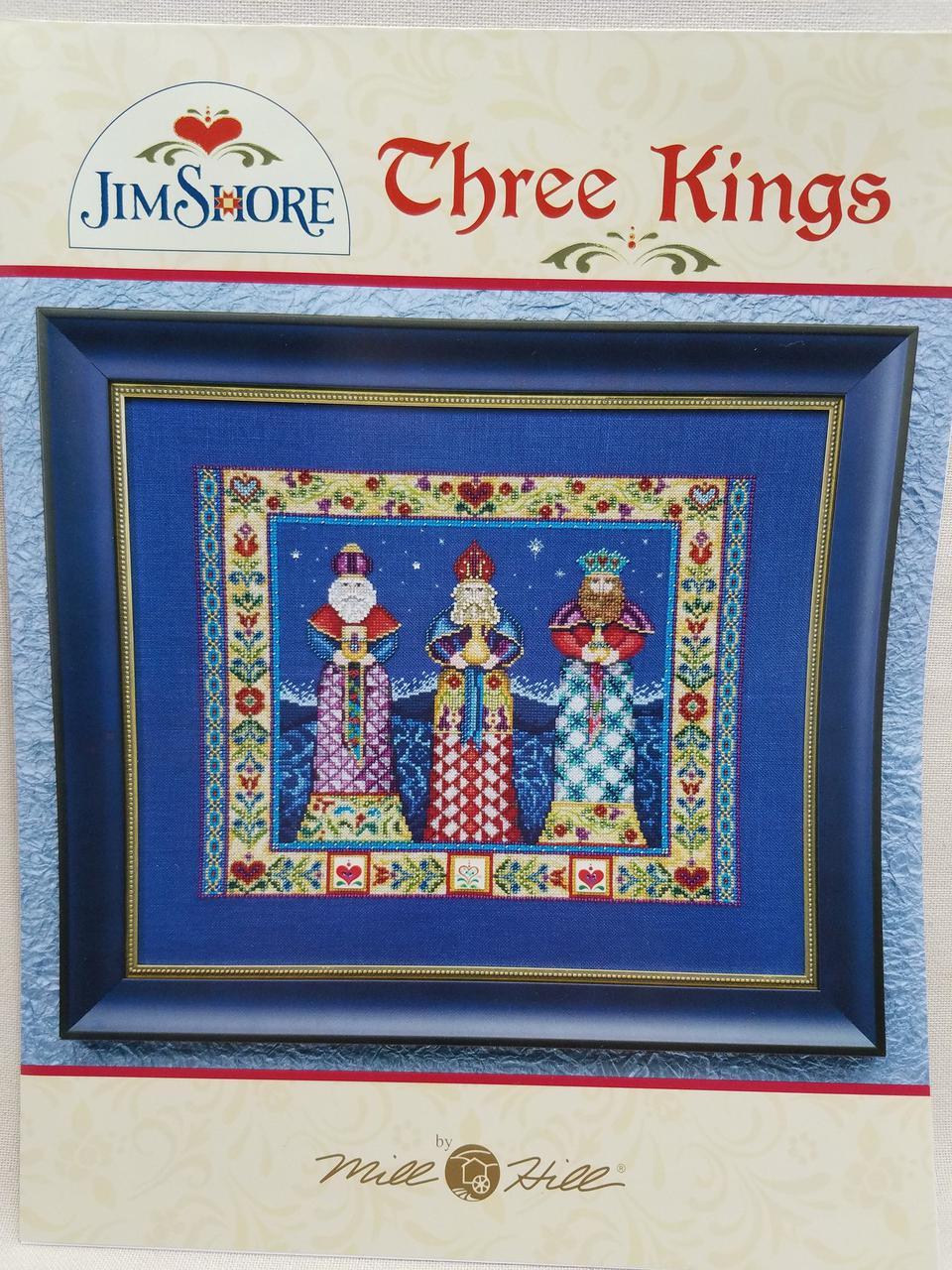 Схема Three Kings (Три короля) Jim Shore