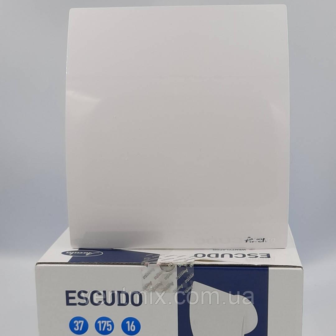 Вентилятор вытяжной ESCUDO WEB 125 с обратным клапаном