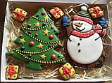 "Подарочный набор""Снеговик и елка"", корока 20х15 см, фото 4"