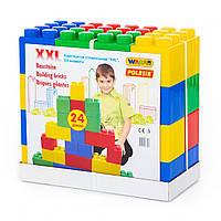 """Конструктор будівельний """"XXL"""", 24 елемента POLESIE (37503)"""