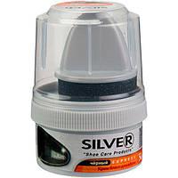 Крем блеск для обуви Silver (цвет Чёрный) 50 ml, фото 1