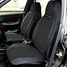 Чехлы сидений Пилот ВАЗ 2111/ВАЗ 2112/ВАЗ 2171/ВАЗ 2172 Приора Priora/Chevrolet Niva Кож.зам-ткань темная, фото 2