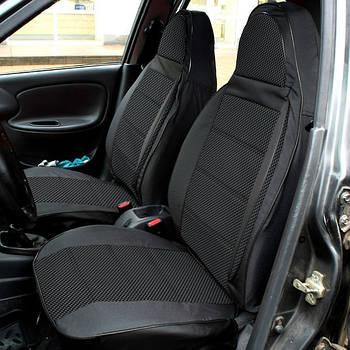 """Чехлы сидений """"Пилот"""" ВАЗ 2111/2112/2171/ВАЗ 2172 Приора Priora/Chevrolet Niva тканевые черные"""