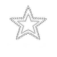 Украшения для груди со стразами MIMI Star цвет: серебристый  Bijoux Indiscrets